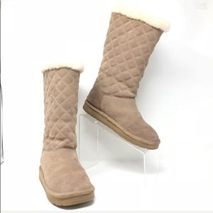 Michael Kors  Shearling Suede Boot Size 7